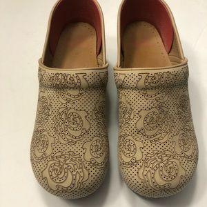 Tan Dansko Professional Clogs Size 42